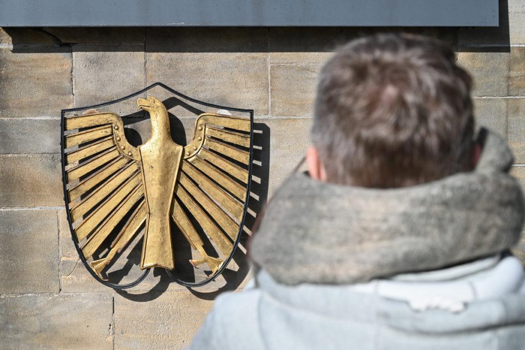 Bundesadler an der Villa Hammerschmidt